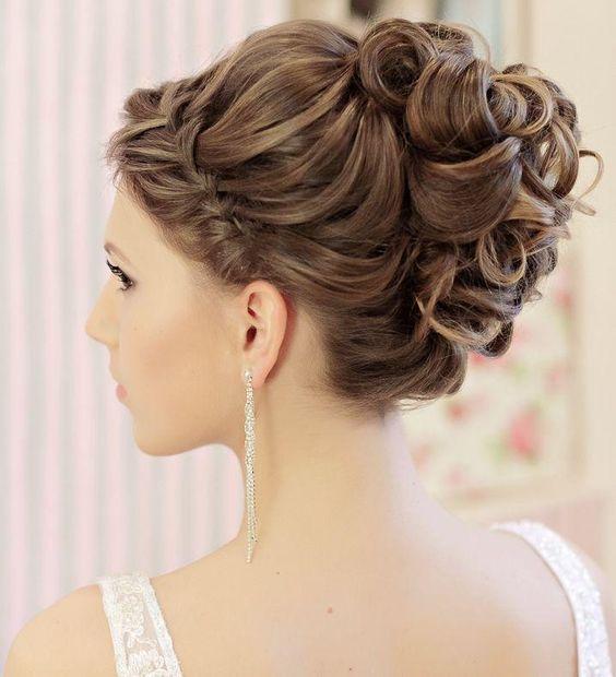 la moda en tu cabello modernos peinados recogidos para