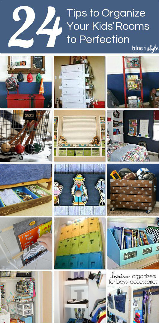 Tips for Organizing Kids' Rooms