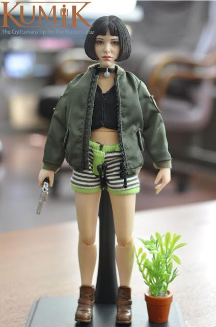 osw.zone Kumik KMF036 1 / 6. Skala 12-jährige Mädchen Action Figur aka Mathilda im Profi