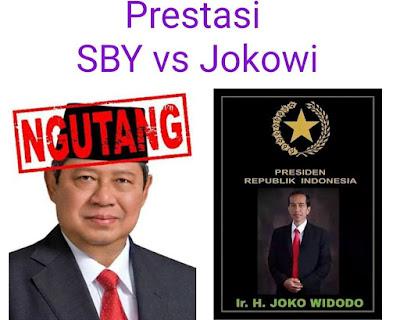 Prestasi 1 tahun Jokowi vs Prestasi 10 tahun SBY