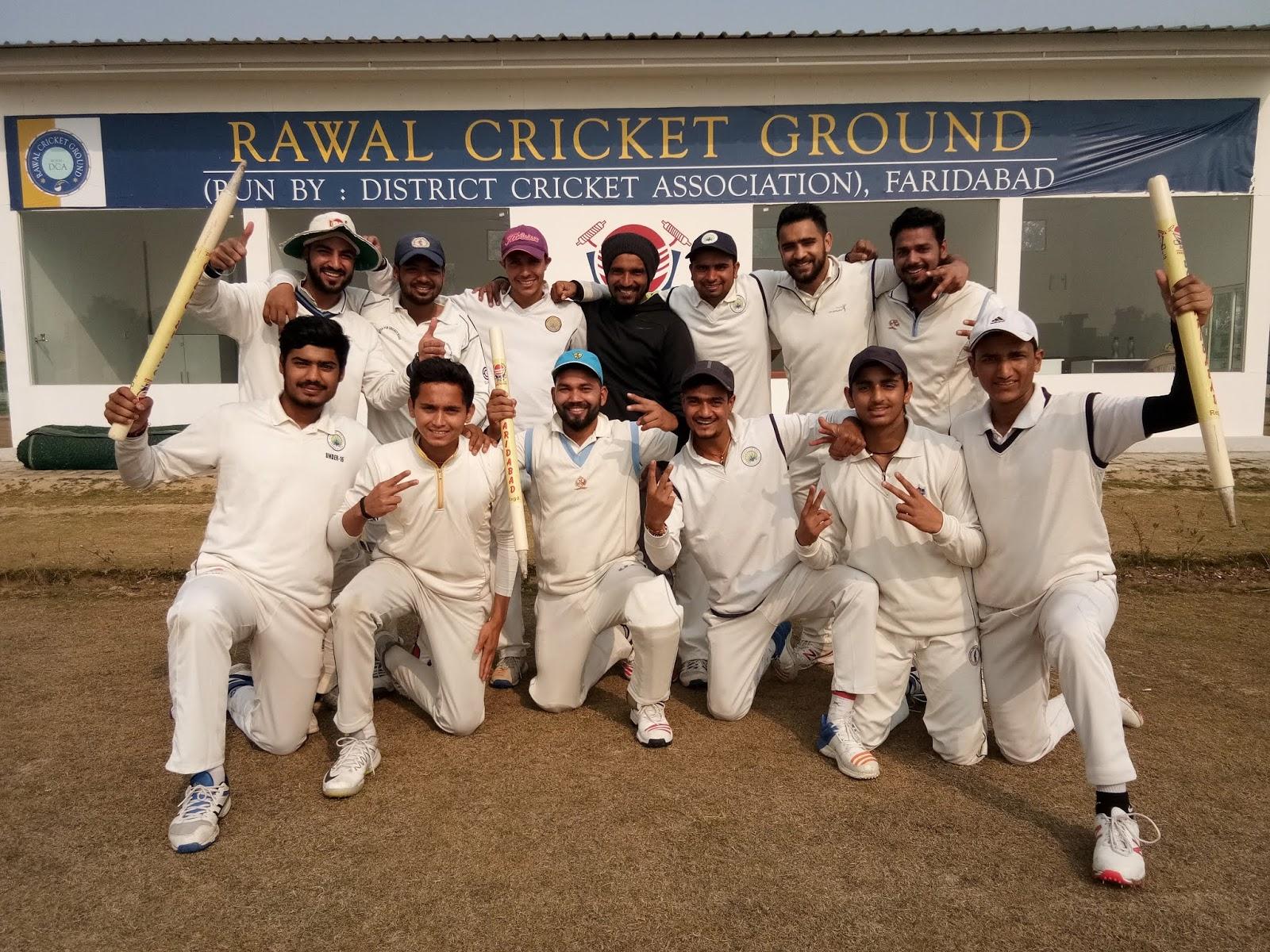 लखानी अरमान क्रिकेट क्लब ने मेवात अरावली क्रिकेट एसोसिएशन को  48 रन से हराया