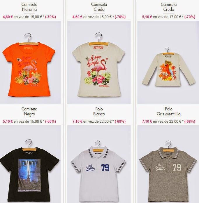 Camisetas y polos niños
