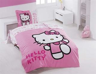 Hello Kitty Berry Tek Kişilik Nevresim Takımı