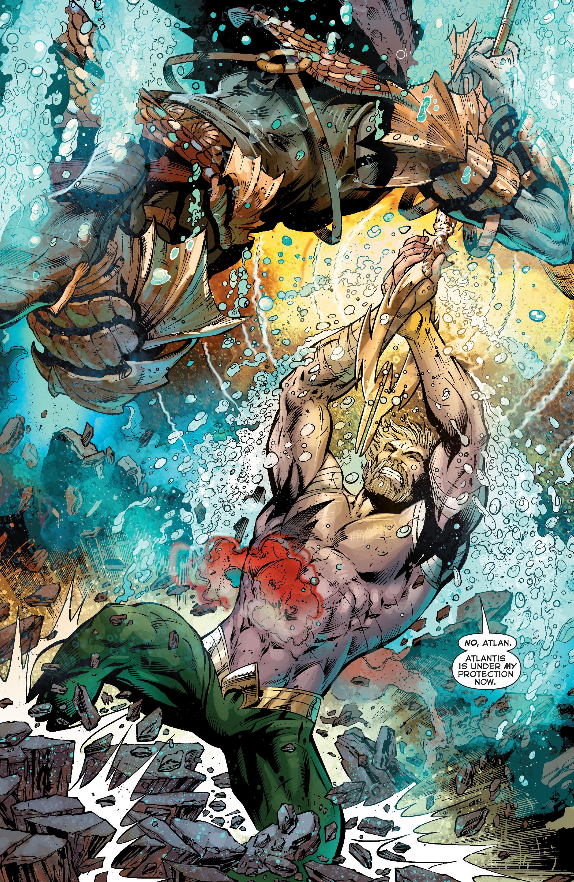 Read online Aquaman (2011) comic -  Issue #25 - 14