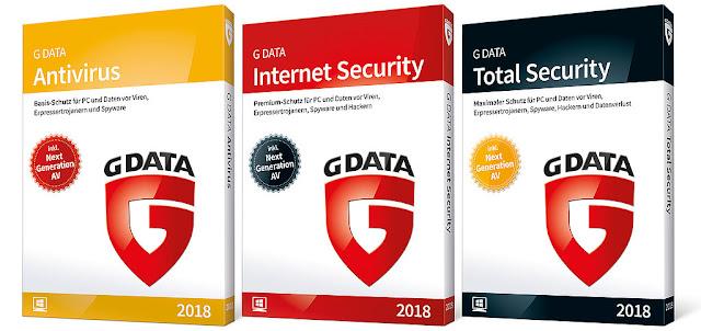 G-DATA 2018  antivirus
