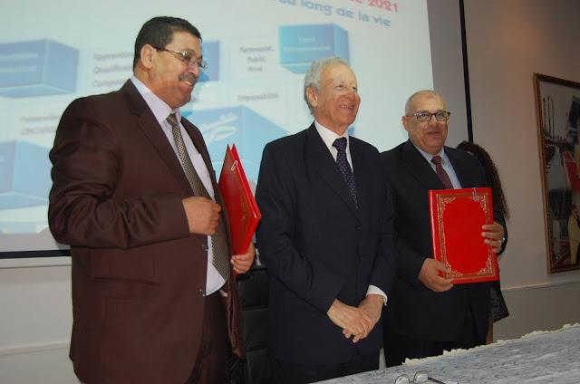 توقيع اتفاقيات إطار للشراكة والتعاون من أجل إنجاز برامج للتكوين بالتدرج المهني