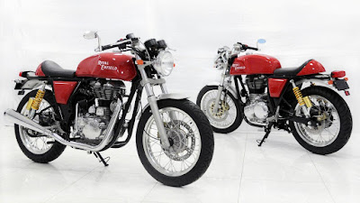 Royal Enfield Continental GT two looks