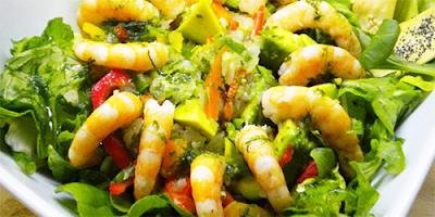 Ensalada del Mar receta