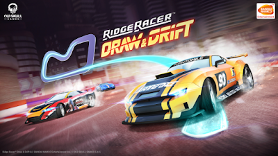 Download Game Android Gratis Ridge Racer Draw And Drift apk + obb