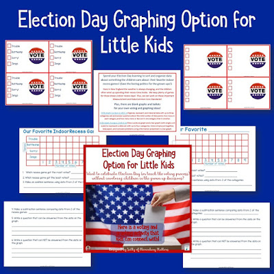 Election Day Options for Little Learners: The REAL election is far too grusome to share with little ones, so here are a few alternatives that will help the kiddos learn in a way they can understand