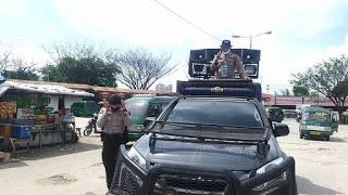 Piter Kendek Gelar Patroli Himbauan Pencegahan COVID-19 di Kota Jayapura