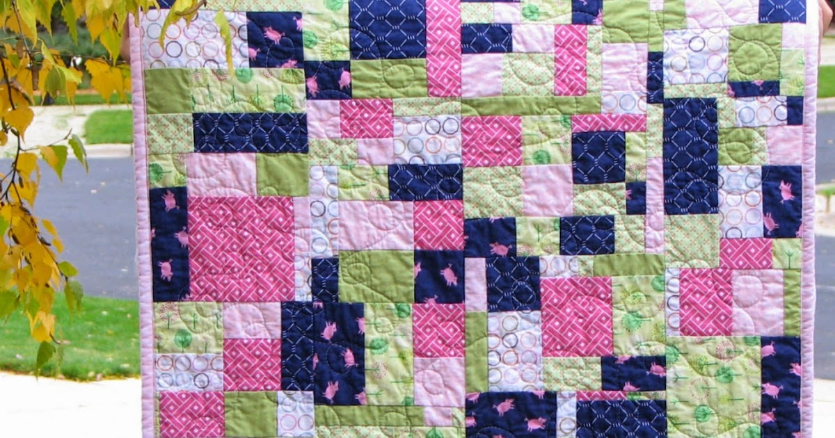 Modern Parti Quilts Country Girl Improv Quilt