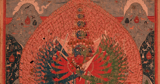 Tantric Buddhist art from Nepal