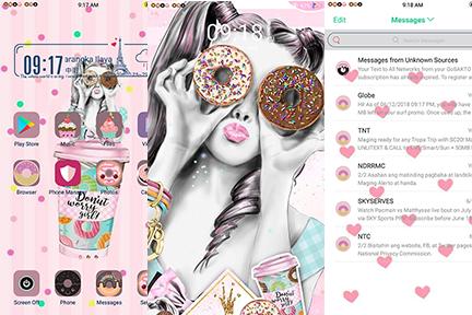 Oppo Theme: Oppo Donuts Theme