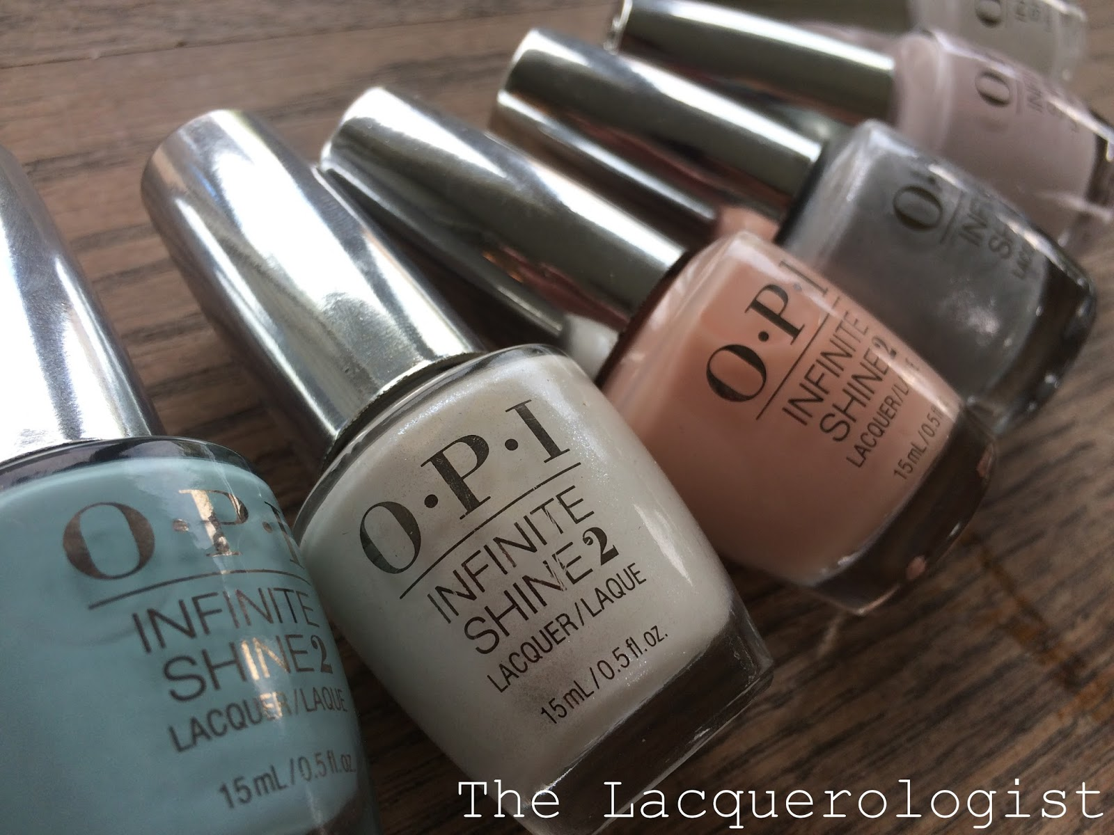 opi infinite shine soft shades for spring 2015 swatches review