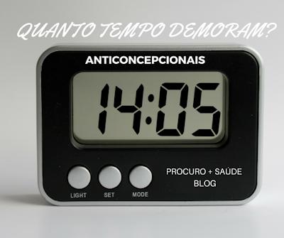 Quanto tempo o anticoncepcional hormonal demora para fazer efeito?