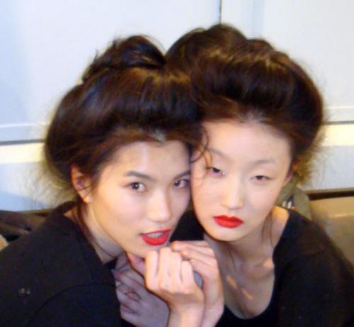 Venus Loves Virgo: Modern Geisha Hair For My Birthday
