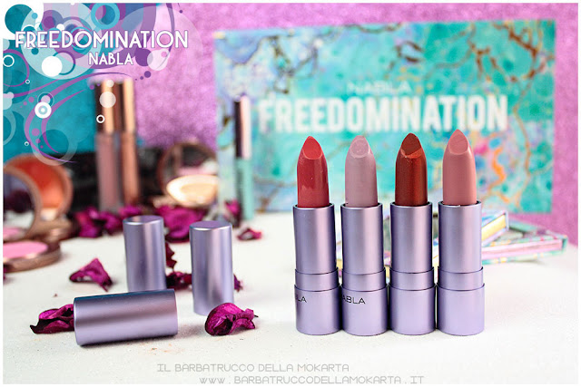 diva crime nabla cosmetics recensione freedomination collection summer lipstick diva crime