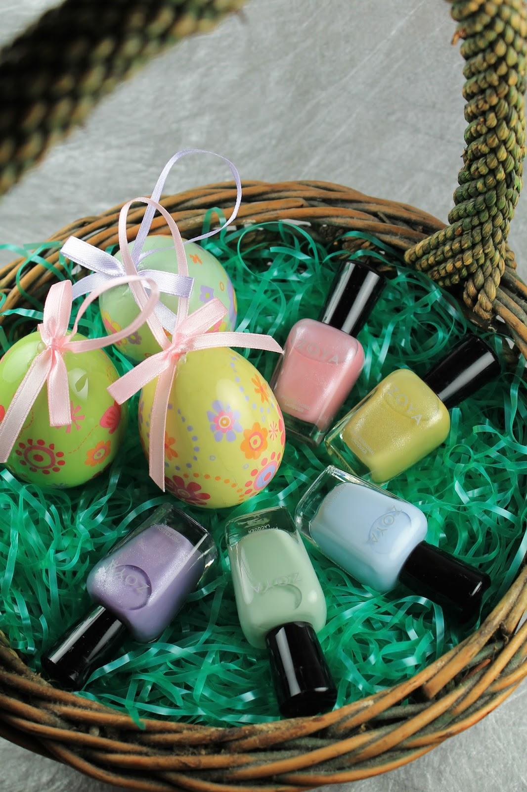 Shine Beauty Beacon Easter Basket Nail Colors Transform