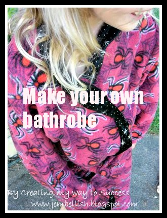 Make your own Bathrobe