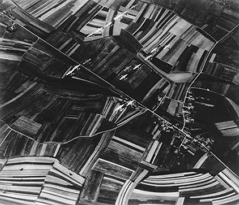 B-26 Marauder sulla pianura padana in bombardamento