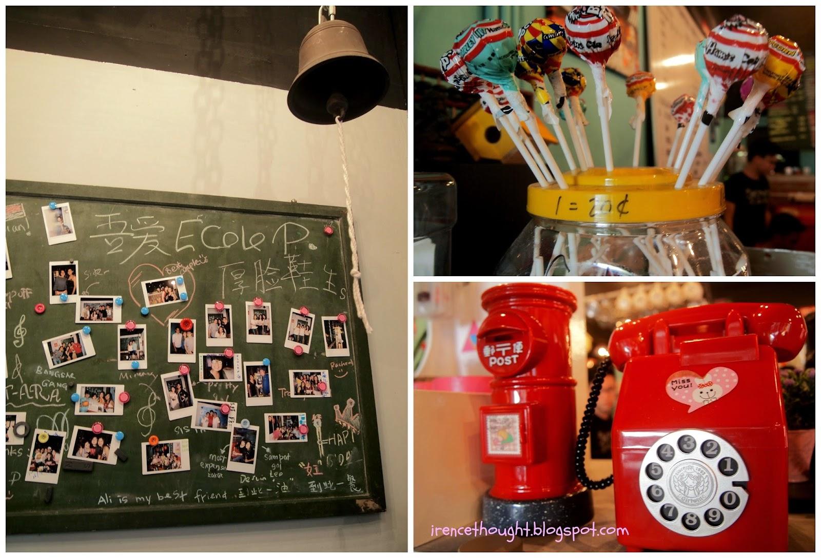 Cafe decorations