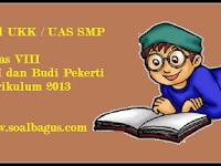 Soal UKK PAI Kelas 8 Kurikulum 2013