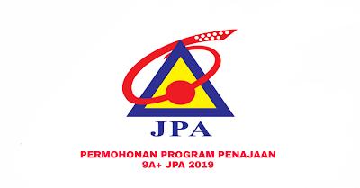 Permohonan Program Penajaan 9A+ JPA 2019 Online