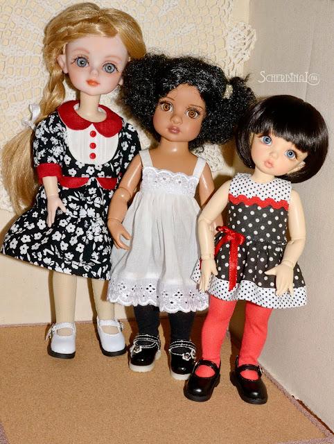 одежда для кукол, шарнирные куклы, бжд