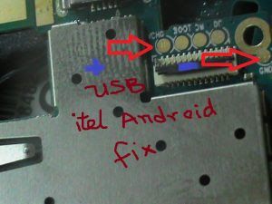 Itel it1403, 1500, 1507 USB charging solution