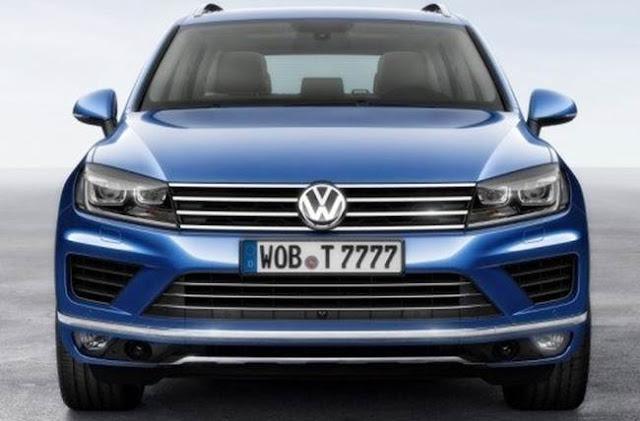 2018 Volkswagen Touareg Redesign