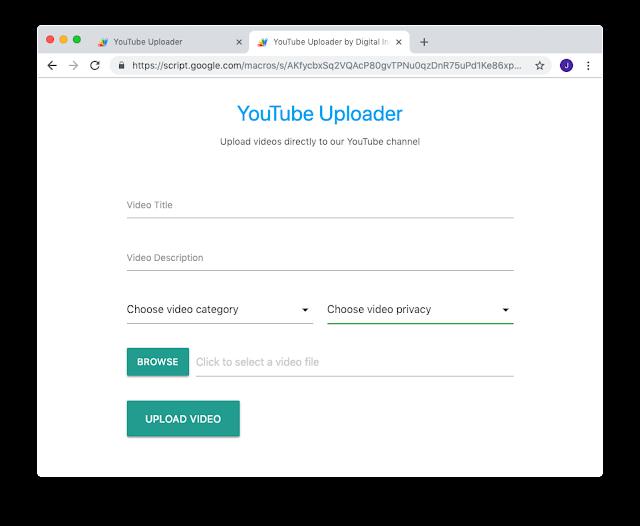 Youtube Uploader - Let Collaborate on Youtube [ Hindi ]