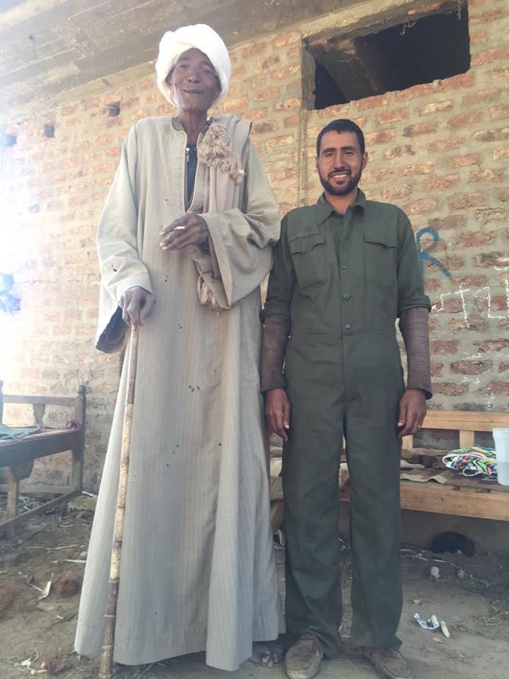 اطول رجل في مصر