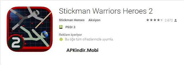 Stickman Warriors Heroes 2 Apk İndir