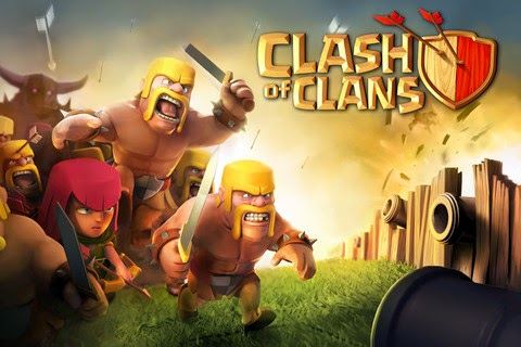 game clash of clans logo 2