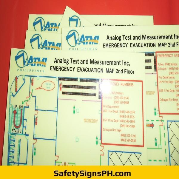 ATMI Philippines Emergency Evacuation Maps