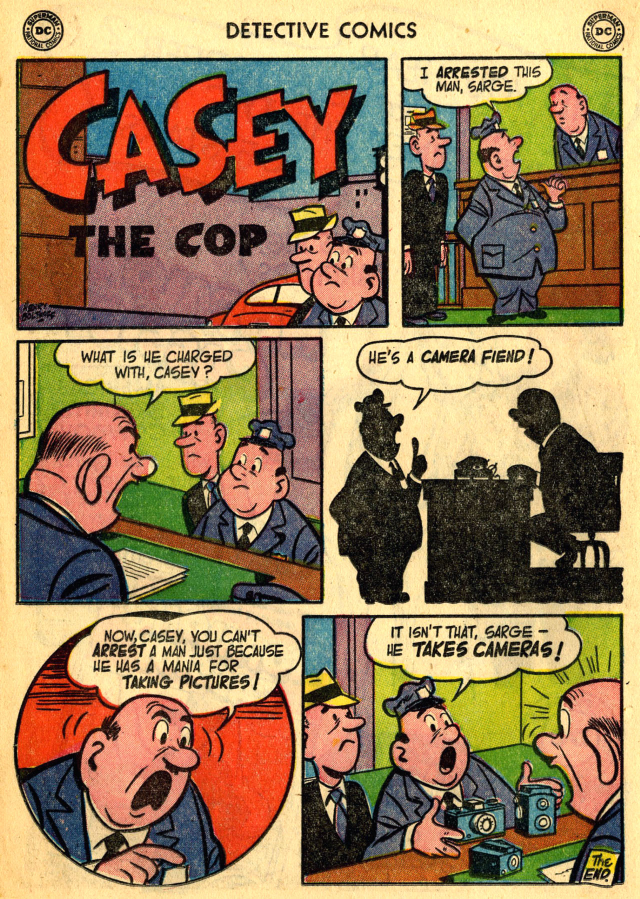 Read online Detective Comics (1937) comic -  Issue #205 - 24