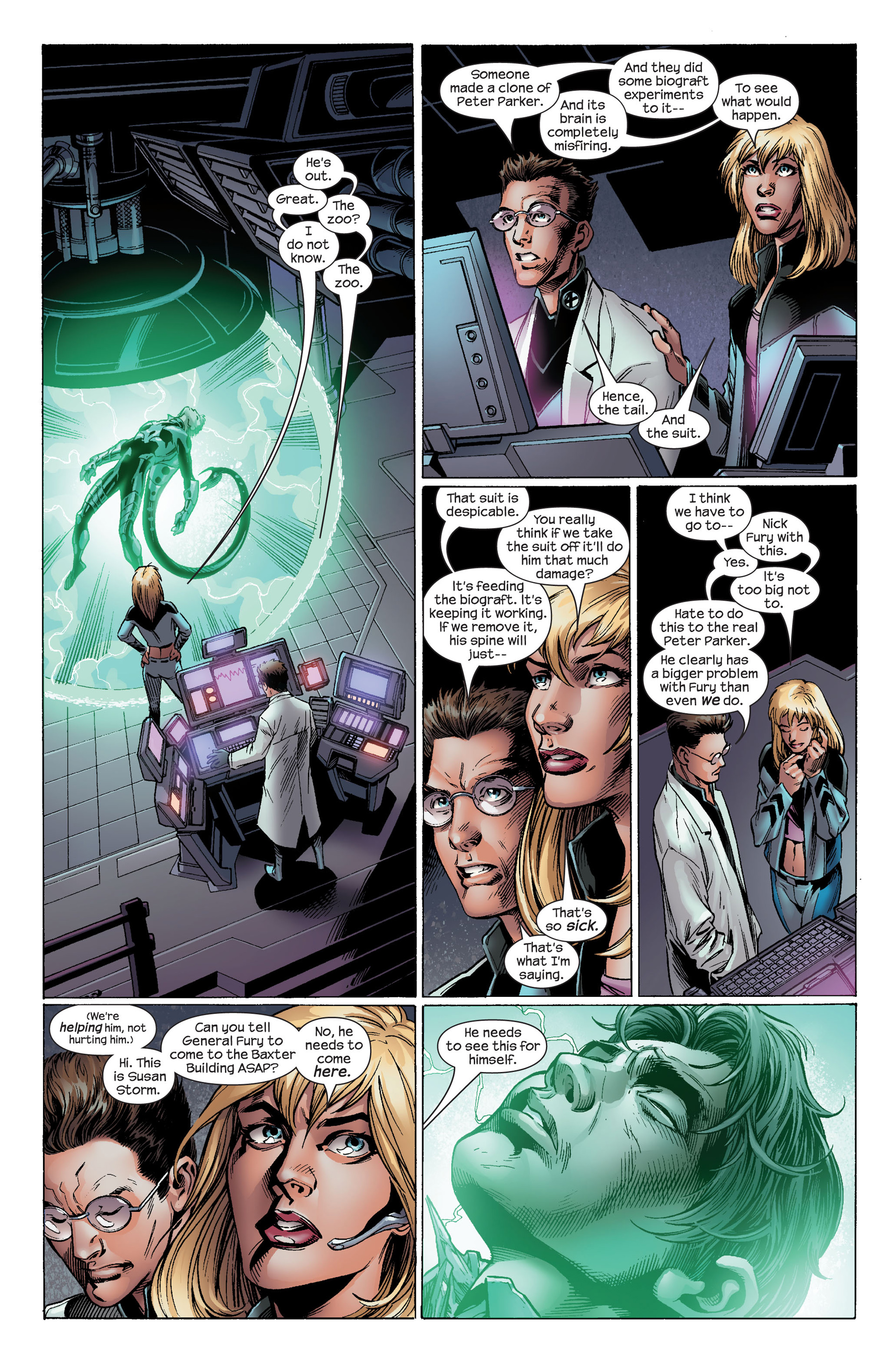 Read online Ultimate Spider-Man (2000) comic -  Issue #99 - 9