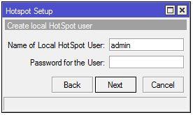 Membuat password hotspot mikrotik