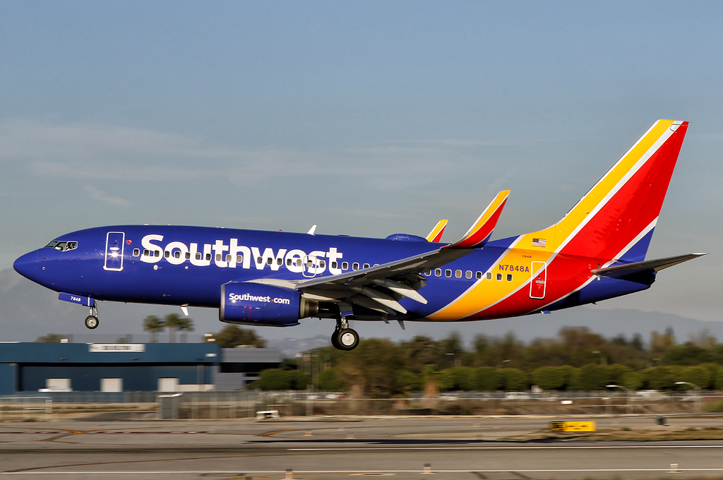 southwest airlines stanford