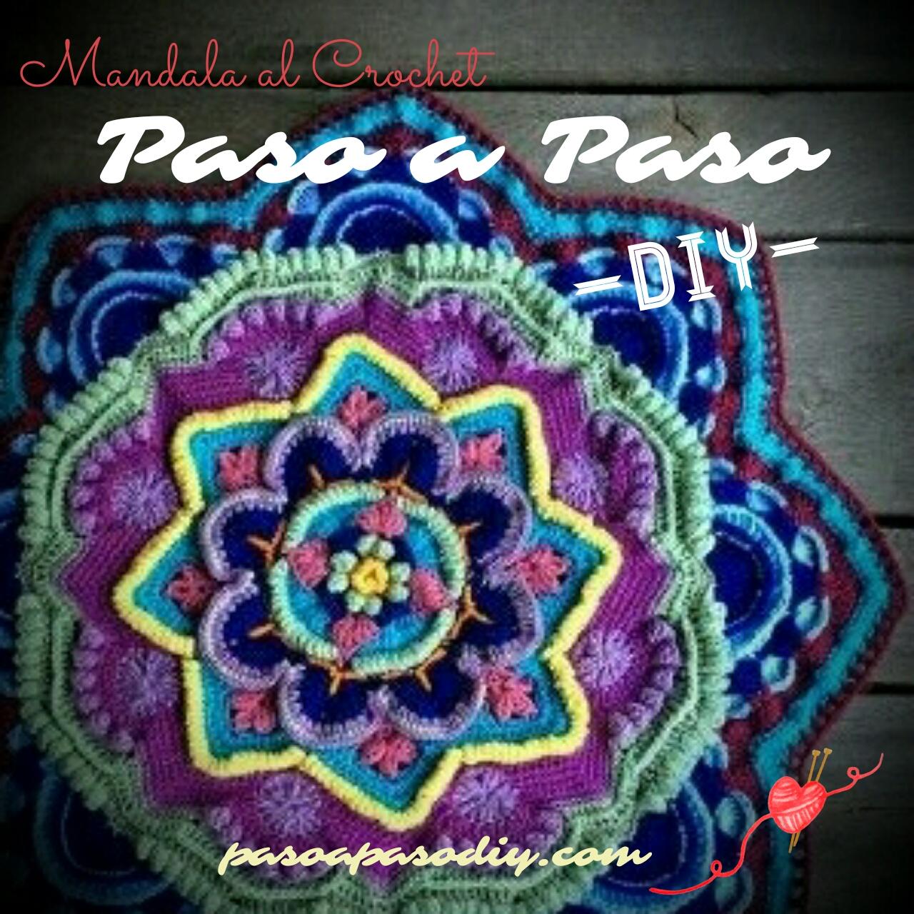 Mandala al Crochet - DIY | Paso a Paso