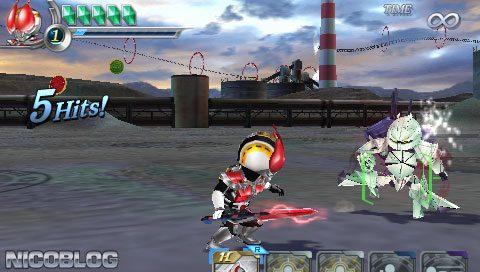 Heroes' VS PSP GAME ISO Gameplay