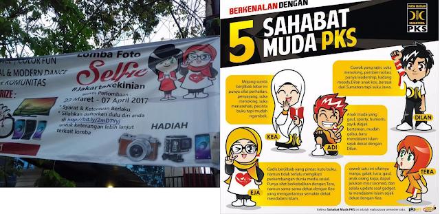 Organisasi Sayap PDIP Jiplak Maskot PKS