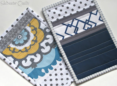 Quilted Mug Rug | © Saltwater Quilts 2012