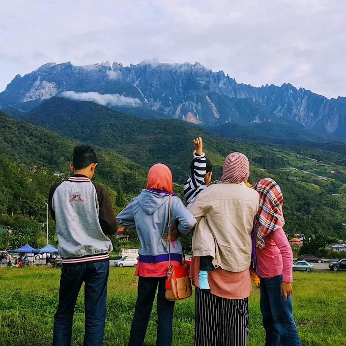Bertentang Mata Dengan Gunung Kinabalu Di Kundasang, Lalu Aku Pun Jatuh Cinta