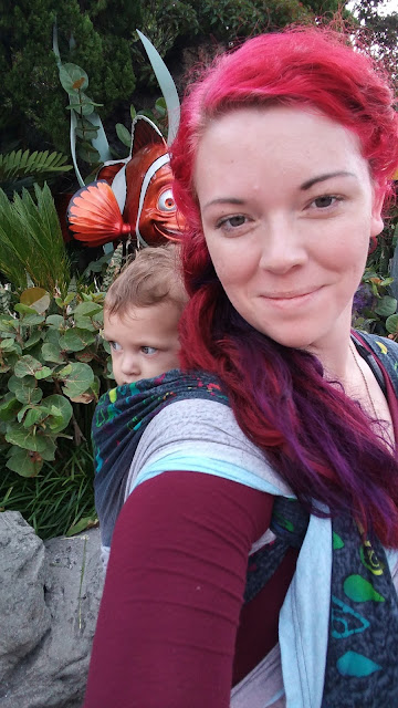 Babywearing On Walt Disney World Rides: A How To