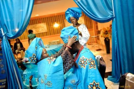 Colourful Nigerian Wedding Fashion