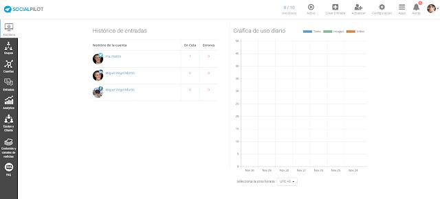 Social Pilot - El Blog de MAM: 14 herramientas para automatizar tus publicaciones en medios sociales
