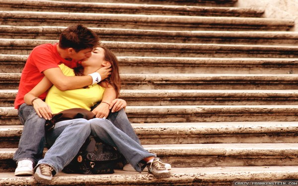 Kissing Style Romantic Couple Wallpapers HD