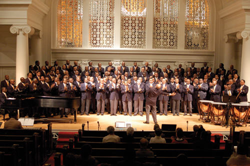 AfriClassical: Brotherhood Chorale Sings at Music Institute